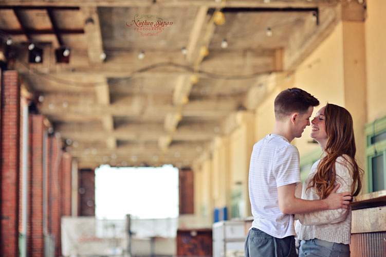 Engagement shoot Asbury Park NJ 2
