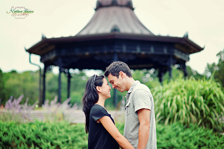 Engagement shoot Eagle Rock Reservation West Orange NJ