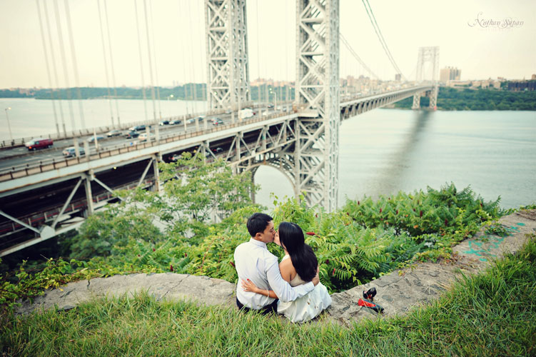 Engagement shoot Fort Lee Historic Park NJ2