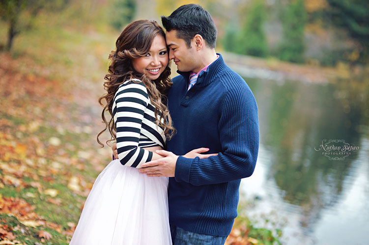 Engagement shoot Kingsland Park Nutley NJ