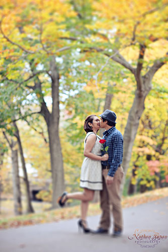 Engagement shoot Kingsland Park Nutley NJ11