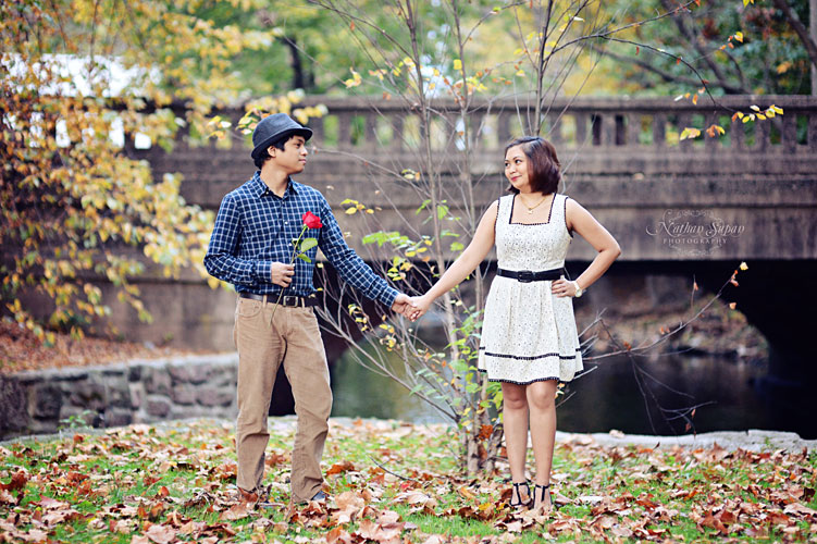 Engagement shoot Kingsland Park Nutley NJ13