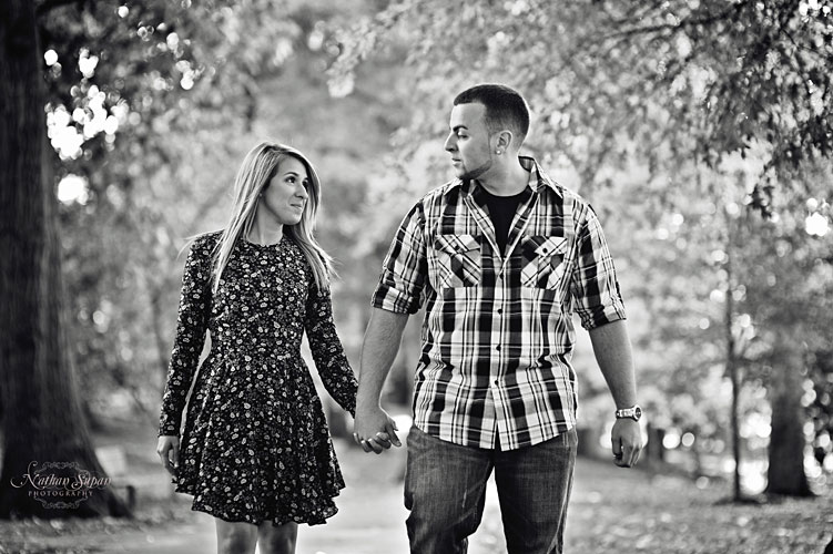 Engagement shoot Kingsland Park Nutley NJ5