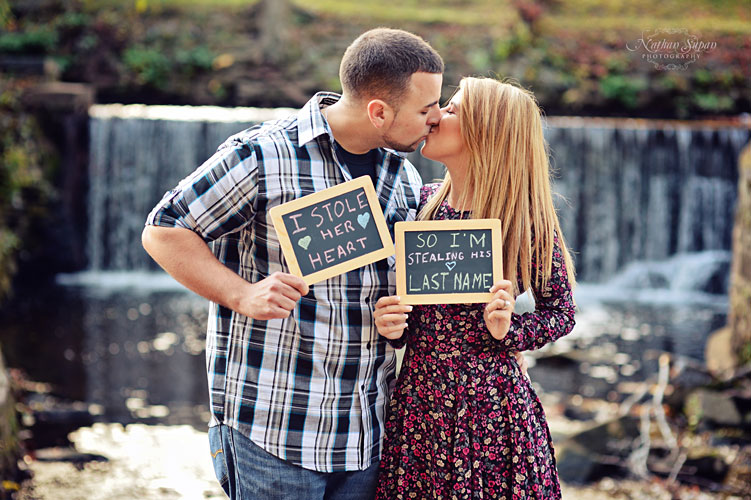 Engagement shoot Kingsland Park Nutley NJ9