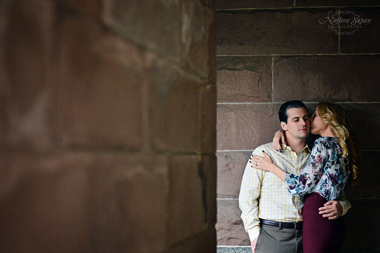 Engagement shoot Lambert Castle Paterson NJ2