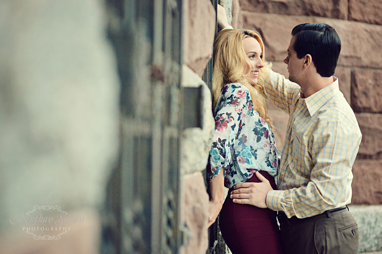 Engagement shoot Lambert Castle Paterson NJ3