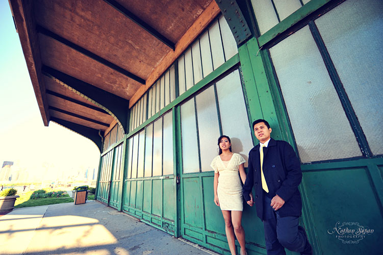 Engagement shoot Liberty State Park Jersey City NJ10