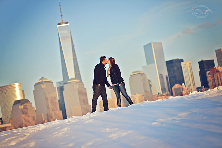 Engagement shoot Liberty State Park Jersey City NJ16