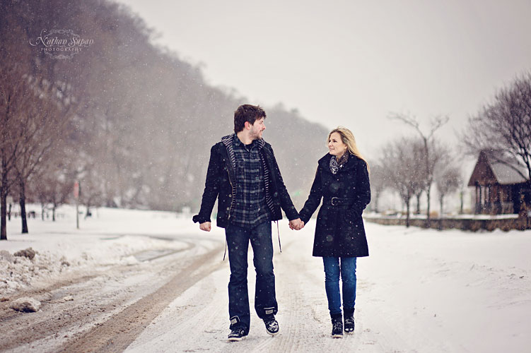 Engagement shoot Ross Dock Fort Lee NJ1