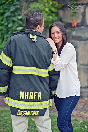 Engagement shoot Ross Dock Fort Lee NJ4