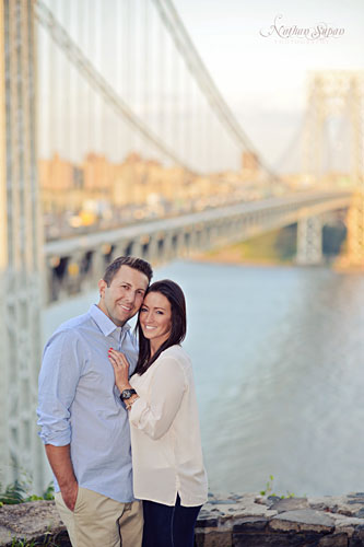 Engagement shoot Ross Dock Fort Lee NJ7