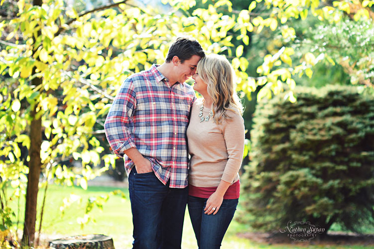 Engagement shoot Skyland Manor Ringwood NJ