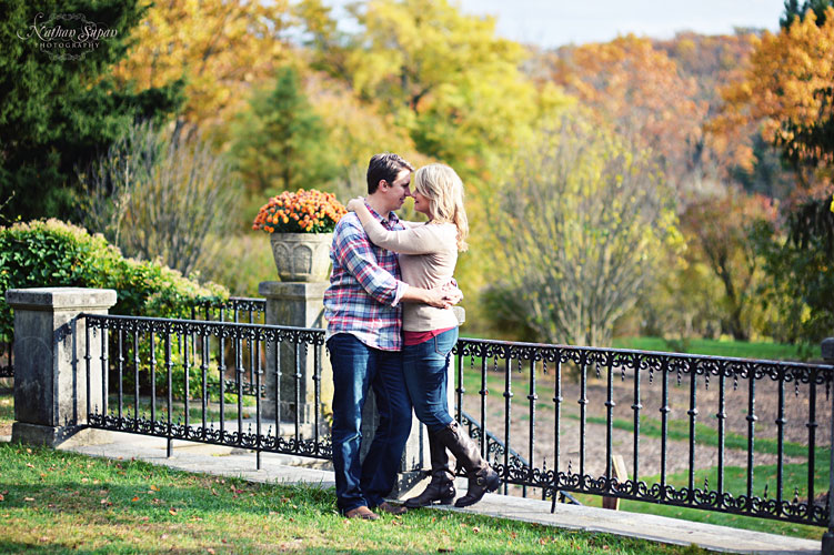 Engagement shoot Skyland Manor Ringwood NJ11
